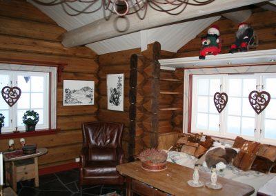 innvendig maling hytte